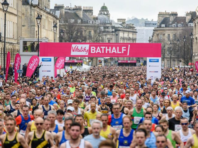Matt's running the Bath Half Marathon
