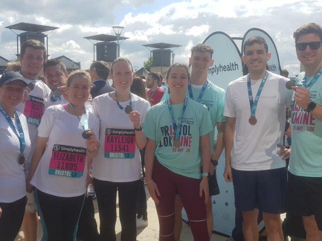 Bristol 10K 2019 – raising money for Jonathan's Voice