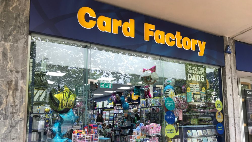 Teaming up with Card Factory