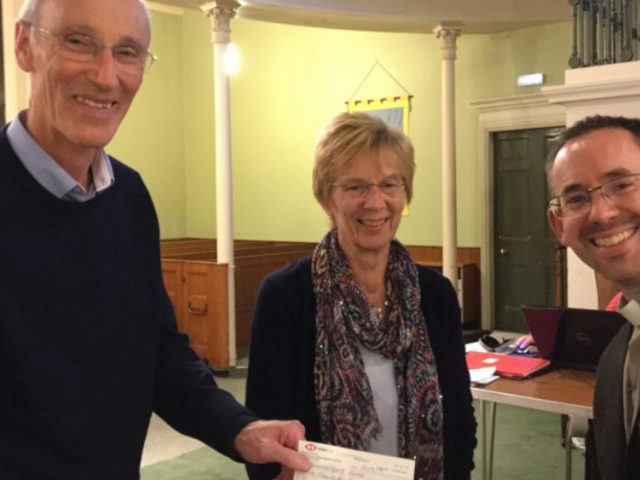 Methodist churches raise money for Jonathan's Voice