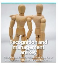 Recognition and Management: key to protecting mental health